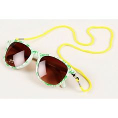 Mini Rodini Palm Sunglasses In Lt. Green