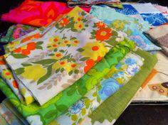 Love vintage fabric!