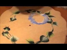 One stroke painting - Hortenzije