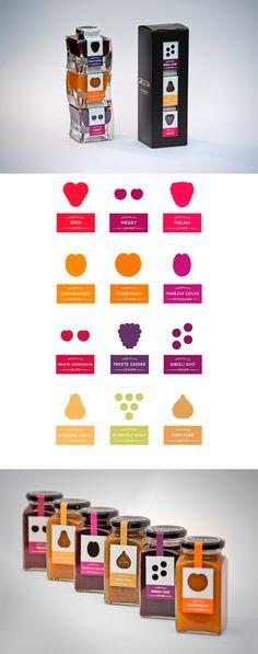 packaging / geleta jam Food, pack, graphic, design, art, logo,