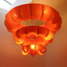 I like this lamp because its different and its orange!!!