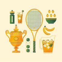 Creative Illustration image ideas & inspiration on Designspiration Creative Illustration, Illustration Art, Illustrations, Show And Tell, Creative Inspiration, Tennis, Painting, Image, Instagram