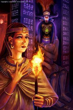 Egypt: The Crocodile God, Sobek (in the background)