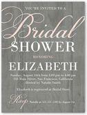 Rustic Shower Bridal Shower Invitation