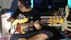 GUMI「セツナトリップ」をスラップベースで親指でバキバキ弾いてみた!