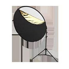 Photo Basics 5-in-1 reflector kit. Includes arm and stand.