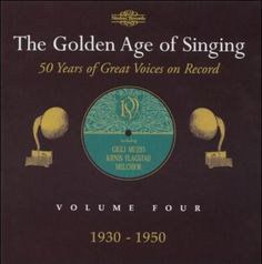 Precision Series Various - Golden Age of Singing: Vol. 4