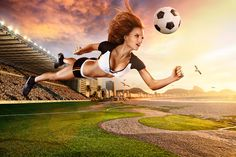 Το ποδόσφαιρο ταιριάζει στις γυναίκες    Οι γυναίκες ωφελούνται περισσότερο, όσον αφορά τη γενική φυσική τους κατάσταση, αλλά και την...