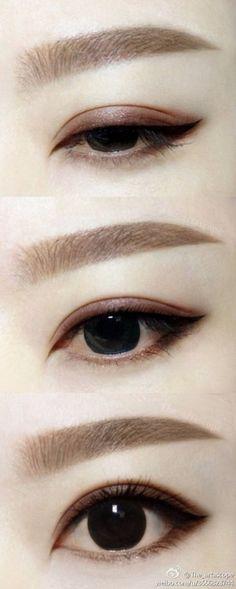 Immagine di makeup and eyes