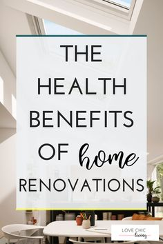 The Health and Wellbeing Benefits of Home Renovations with VELUX Roof Windows - Love Chic Living Single Storey Extension, Roof Window, Bright Homes, Uk Homes, Health And Wellbeing, Mental Health, Blog Love, Open Plan Kitchen, Improve Yourself