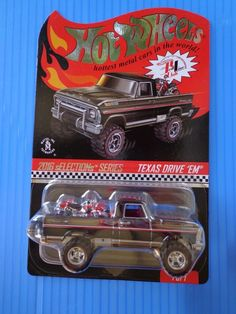 Hot Wheels 60/'s FORD ECONOLINE PICKUP Custom Color Variants REAL RIDERS METAL