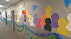 VBS Game On! Love the idea of creating colorful silhouettes of fans in the stadium for the walls in our church. How easy and inexpensive. Would suggest mixing up the people silhouettes (man, woman, kids).