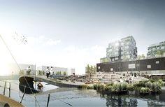 Nordhavn Islands project in Copenhagen by C.F. Møller Landscape
