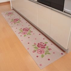 Belluna: Kitchen; rugs & mats; ローズ吸着マット4枚組