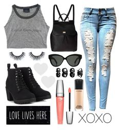 """""""GREYY"""" by teenager101 ❤ liked on Polyvore"""