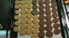 Biscotti di avena burro spezie e cacao