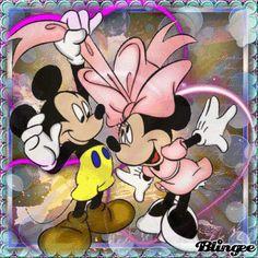 (((*Mickey and Minnie*)))