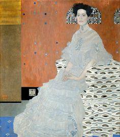 Фрица Ридлер. Галерея Бельведер, Вена (Galerie Belvedere, Wien). 1906. 152х134