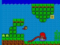 Alex The Kid - This game came already built in my master system. I would love to be it again now.
