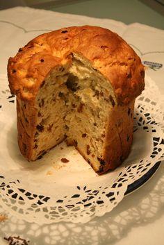Vegan panettone italian sweet bread eggless dairyfree, use vegan butter instead of margarine