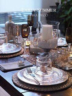 夕暮れの海辺 の画像 元CAが主催する苦楽園のテーブルコーディネート教室 神戸・芦屋・西宮・大阪