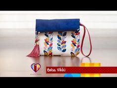 Bolsa de tecido Vikki - Maria Adna Ateliê - Vendas cursos e aulas de Bolsas de tecido - YouTube