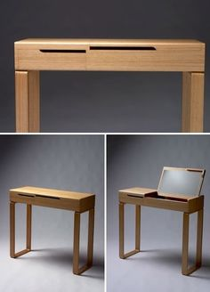 Flip Top Vanity Table - Foter