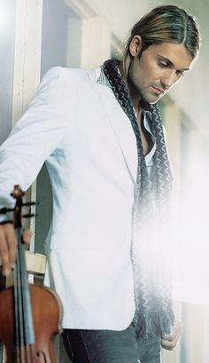 David Garrett... He's like Kurt Cobain with a violin... Sign me up.