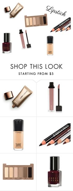 """Başlıksız #11"" by tinaair on Polyvore featuring güzellik, Nude by Nature, Jouer, MAC Cosmetics, Urban Decay ve Bobbi Brown Cosmetics"