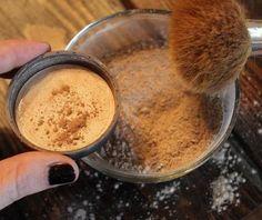 Maquiagem com produtos naturais