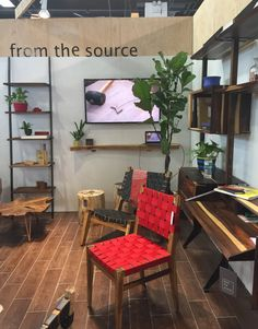 From the Source designs all of their pieces in Brooklyn but manufactures them in Indonesia via sustainable sources, where they cut and dry their own wood.