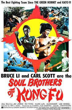 Soul Brothers Of Kung Fu - 1977 - Movie Poster Kung Fu Martial Arts, Martial Arts Movies, Old School Movies, Hong Kong Movie, Kung Fu Movies, Romantic Comedy Movies, Cinema, Soul Brothers, Adventure Movies