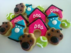 Dog Days Mini Sugar Cookies-7.5 Dozen for Monica by acookiejar