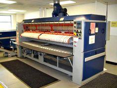 Chicago Dryer Company Model Tristar 24 Steam Heated Flatwork Ironer Machine on GovLiquidation Laundry Equipment, Heavy Equipment, Electrical Equipment, Military Surplus, Bunk Beds, Dryer, Chicago, Auction, Model