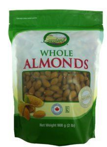 Everland 100-Percent Natural Almonds Whole, 908gm - http://handygrocery.org/grocery-gourmet-food/everland-100percent-natural-almonds-whole-908gm-ca/
