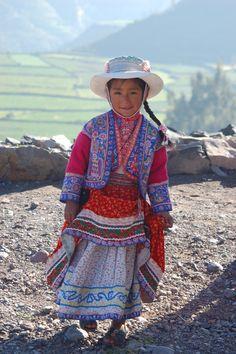 Peruvian girl in Colca Valley | by Jake&Sam