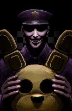 FNaF: Purple Guy by BritneyPringle on DeviantArt Five Nights At Freddy's, Dc Anime, Anime Fnaf, Freddy S, Fnaf Wallpapers, William Afton, Fnaf Sister Location, Freddy Fazbear, Fnaf Drawings