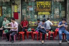 street food Bangkok, Thailand
