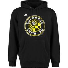 Columbus Crew SC adidas Logo Set Pullover Hoodie - Black - $64.99