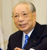 "'Humanity's collective mission in the cosmos lies in the practice of compassion.' My mentor, SGI President Daisaku Ikeda.    ""not only a leading Buddhist  philosopher living in Japan but also  a man of action who had created two  universities & the Soka school system; submits peace proposals every year to  the UN; has had dialogues with many  distinguished people; founded SGI,  which is a network of ordinary people  working 4 peace; while still going strong  & writing & producing new ideas!"""