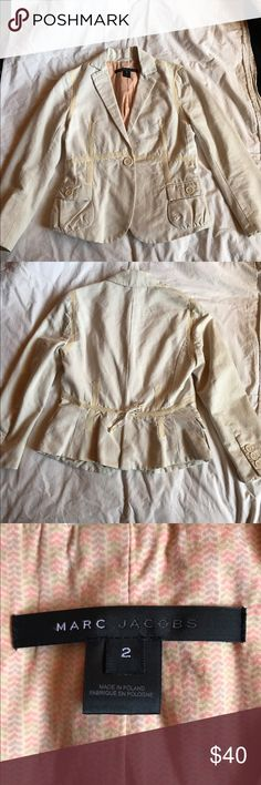 Marc Jacobs blazer/jacket Like new Marc Jacobs blazer/jacket. No stains or tears. Open to offers Marc Jacobs Jackets & Coats Blazers