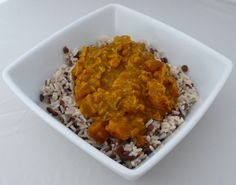 Mango Chicken Curry over Lentils and Rice - Trail Cooking ... for vegetarian car camping, bring can of lentils and keep instant rice.