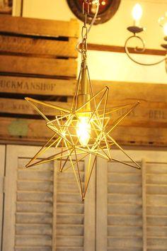 おしゃれなシェードランプの通販 Geometric Lamp, Chandelier, Ceiling Lights, Lighting, House, Home Decor, Candelabra, Decoration Home, Home