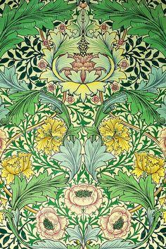 Motifs Art Nouveau, Motif Art Deco, Art Nouveau Design, Design Art, William Morris Wallpaper, William Morris Art, Morris Wallpapers, Of Wallpaper, Designer Wallpaper