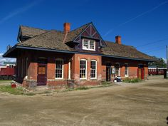 Old train depot Abandoned Train Station, Old Train Station, Train Stations, Old Trains, Vintage Trains, Leadville Colorado, Train Tour, Colorado Homes, Train Tracks