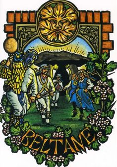 Beltane article with correspondences etc