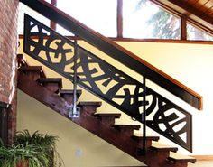 Contemporary Custom Stair Railing with Welding for Office Building by NatureRails