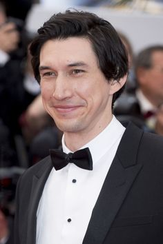 We'll have the cutest grin ever with a side of ridiculously adorable, please.  Adam Driver attends the premiere of BlacKkKlansman at 2018 Cannes, May 14th, 2018.