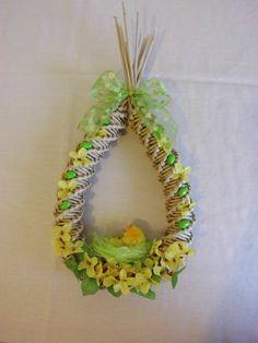 Easter Decoration Paper Basket, Baskets, Crochet Earrings, Easter, Decoration, Handmade, Decorating, Easter Activities, Decor