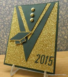 by vdm – Cards and Paper Crafts at Splitcoaststampers Congratulations Mach! Graduation Cards Handmade, Graduation Crafts, Congratulations Card, Copics, Creative Cards, Scrapbook Cards, Scrapbooking, Diy Cards, Homemade Cards